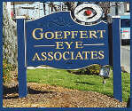 carved sign goepfert eye associates